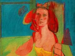 'Mujer sentada'