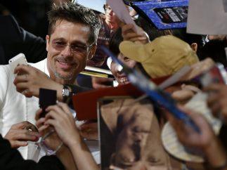 'Selfie' con Brad Pitt