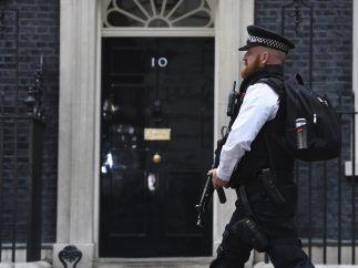 Seguridad en el Nº 10 de Downing Street