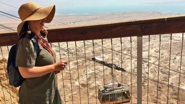 El yacimiento de Masada, el segundo monumento más visitado del Israel