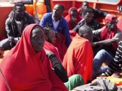 Rescatados mil inmigrantes en el Mediterráneo