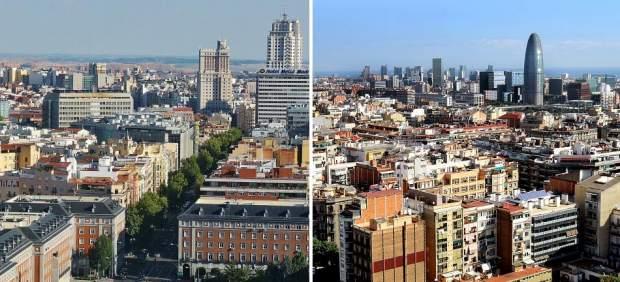 Madrid es la ciudad favorita de los turistas españoles y Barcelona, la de los extranjeros
