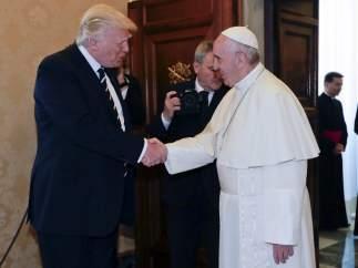 Donald Trump en el Vaticano