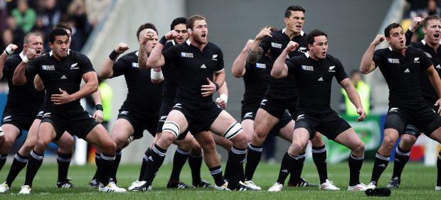 La selección neozelandesa de rugby, los 'All Blacks', premio Princesa de Asturias de los Deportes ...