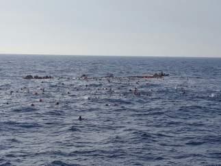 Naufragio en el Mediterráneo