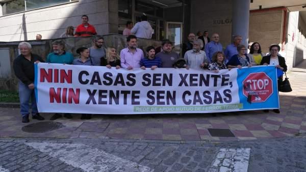 Juicio en Ferrol contra banco sobre código de buenas prácticas.