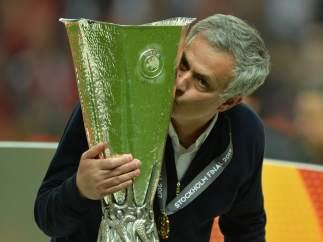 Mourinho con la Europa League