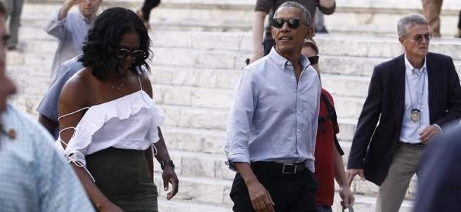 Los Obama en Italia