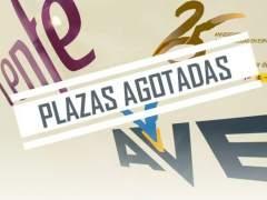 Renfe vende 32.000 billetes de AVE a 25 € en dos horas