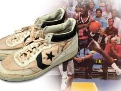 A subasta las zapatillas con que Jordan ganó el oro olímpico