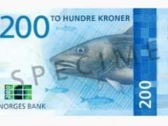 Nuevo billete de Noruega
