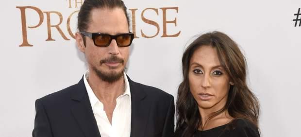 Chris Cornell y Vicky Karayiannis