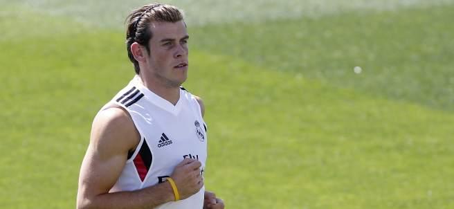Bale entrenando
