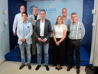 Salamanca.- Miembros del comité organizador