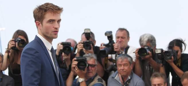 Robert Pattinson en el Festival de Cannes de 2017.