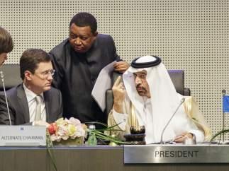 La OPEP se reúne en Viena con la intención de recortar su producción de crudo para que suba de precio
