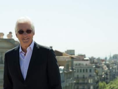 El actor estadounidense Richard Gere en Barcelona.
