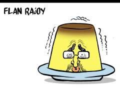 Rajoy hecho un flan