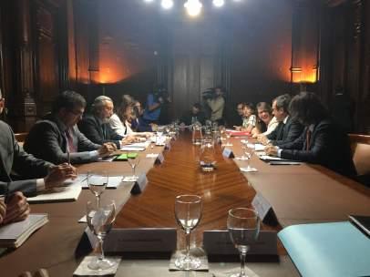 Reunión del comité de administración de Barcelona Sagrera Alta Velocidad.