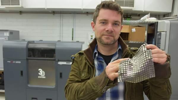 Ingeniero español crea un tejido metálico para la NASA