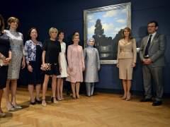 Melania Trump y Brigitte Trogneux, las protagonistas de la otra cumbre