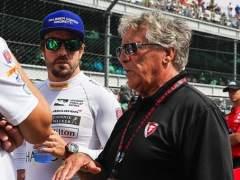 Fernando Alonso y Mario Andretti