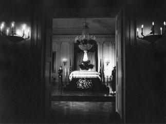 Capilla ardiente por Kennedy en la Casa Blanca