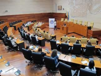 Inauguración de las jornadas 'Debatimos Europa' en las que participan 30 alumnos