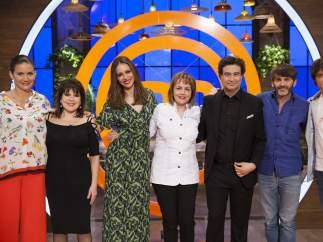 Loles León y Fernando Tejero visitan 'MasterChef'