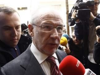 EL FROB secunda a la Fiscalía y pide cinco años de cárcel para Rodrigo Rato por el caso Bankia