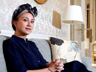 La escritora Camilla Lackberg