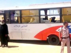 Al menos 28 muertos en un ataque a un autobús de cristianos coptos en Egipto
