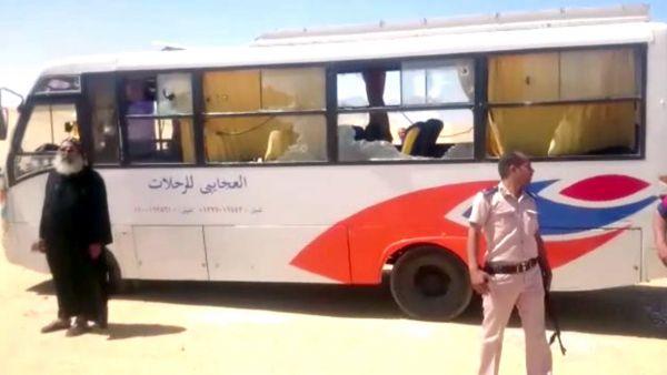 Ataque a un autobús de cristianos coptos en Egipto