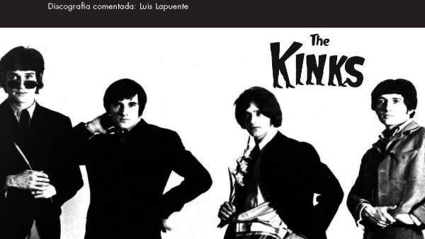 Portada del libro escrito por el periodista Manuel Recio sobre  'Los Kinks'.