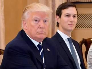 Trump y su yerno, Jared Kushner