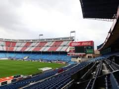 El Vicente Calderón, blindado ante la amenaza terrorista