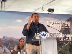 Jeroni Salom en el XII Congreso del PP de Mallorca