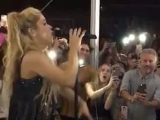 Actuación sorpresa de Shakira en la promoción de 'El Dorado'