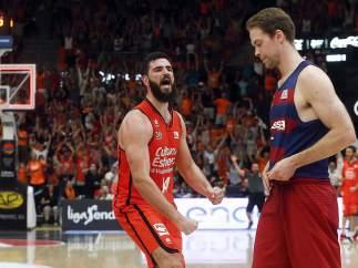 El Valencia elimina al Barça