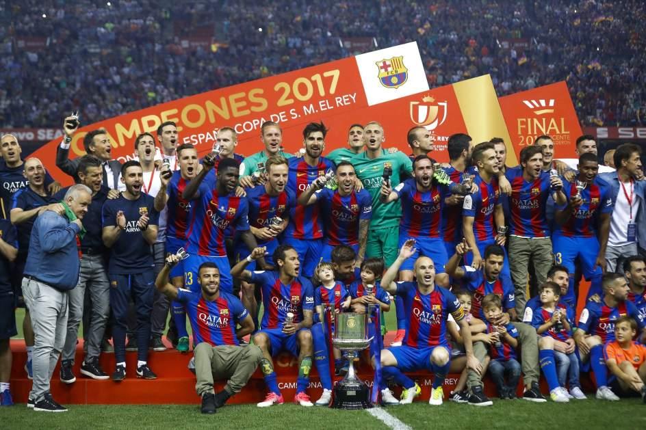 El Barça campeón de copa