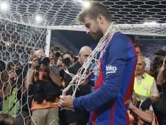 Piqué renueva con el Barça hasta 2022