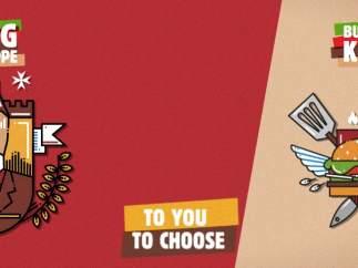 La familia real belga, molesta con un anuncio que pide escoger al rey o Burger King