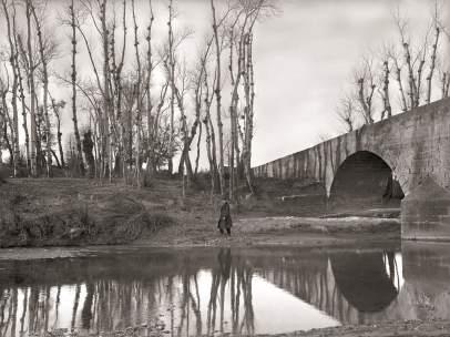 Una de las fotografías de los hermanos Viñuales que puede verse en Graus