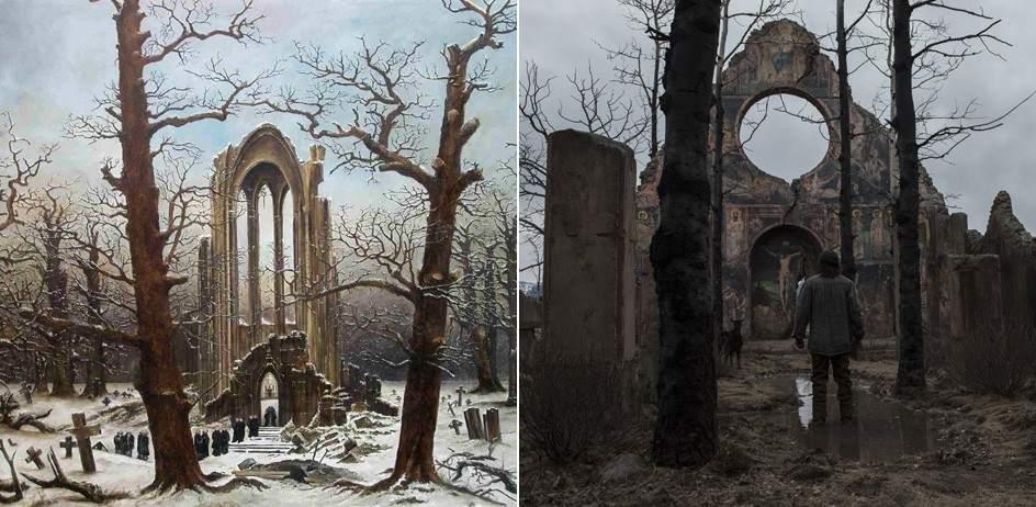 Resultado de imagen para el renacido abadía en el robledal
