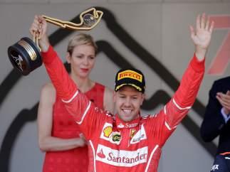 Sebastian Vettel Mónaco