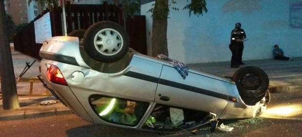 Accidente en Pio Baroja