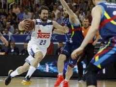 Real Madrid-Unicaja y Baskonia-Valencia, semifinales de la ACB