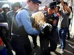 Cinco muertos por una avalancha en la final de la liga hondureña