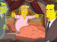 'Los Simpsons' vuelven a la carga contra Trump