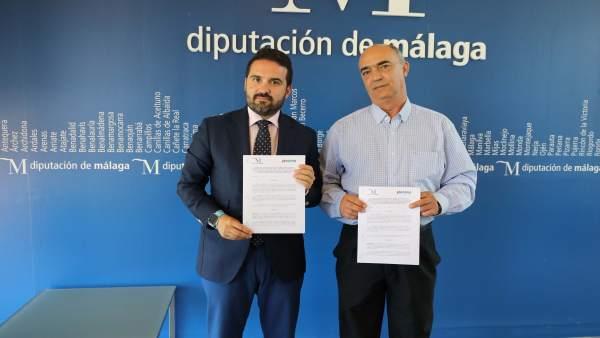 Firma de covenio Diputación Celíacos